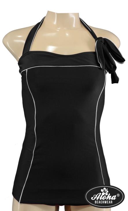 Vintage inspirierter Damen Neckholder Badeanzug fifties