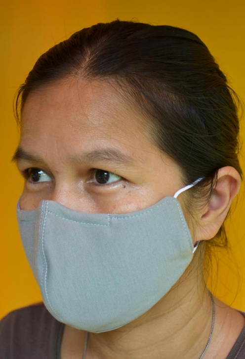 50-500 Stk Mundschutz Atemschutzmaske face mask waschbar Nano-Silver