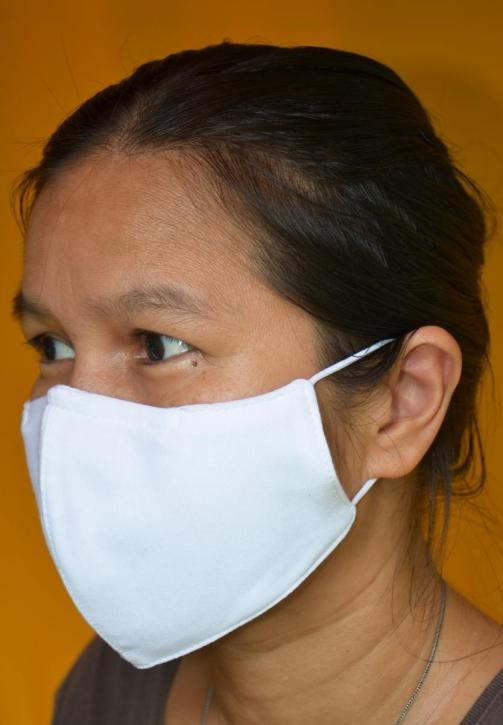 50-500 Stück Mundschutz Atemschutzmaske Behelfsmaske waschbar Nano-Silver