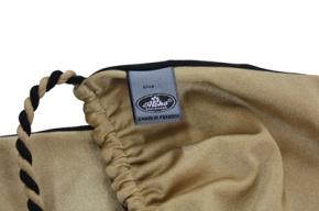 Neckholder Triangel Bikini in Gold Schwarz reversible