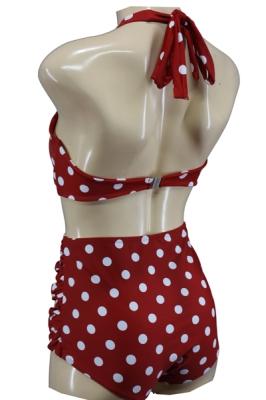 50er Bikini High Waist Polka Dots S / 36 / UK 10