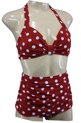 50er Bikini High Waist Polka Dots L / 40 / UK 14