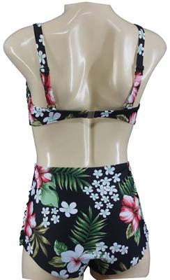 Rockabilly Bügel Bikini Set Vintage geblümt Hibiskus Flower